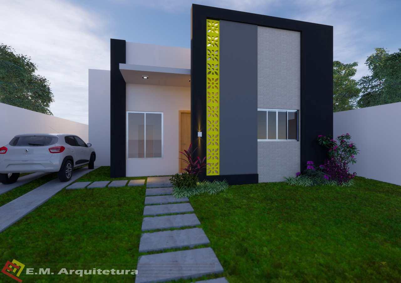 Casa com 1 dorm, Vertentes das Águas, Primavera do Leste - R$ 190 mil, Cod: 185
