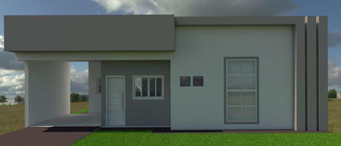 Casa com 2 dorms, Vertentes das Águas, Primavera do Leste - R$ 260 mil, Cod: 222