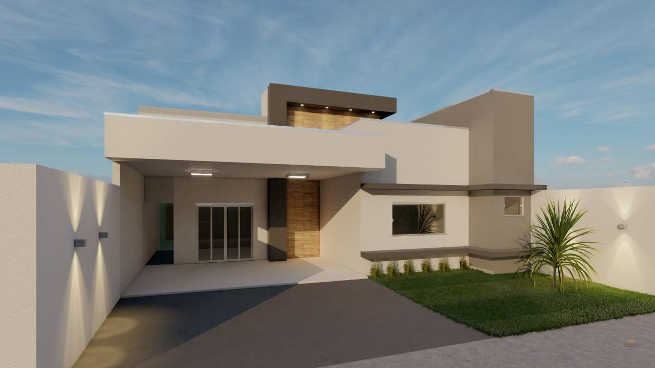 Casa com 2 dorms, Vertentes das Águas, Primavera do Leste - R$ 400 mil, Cod: 223