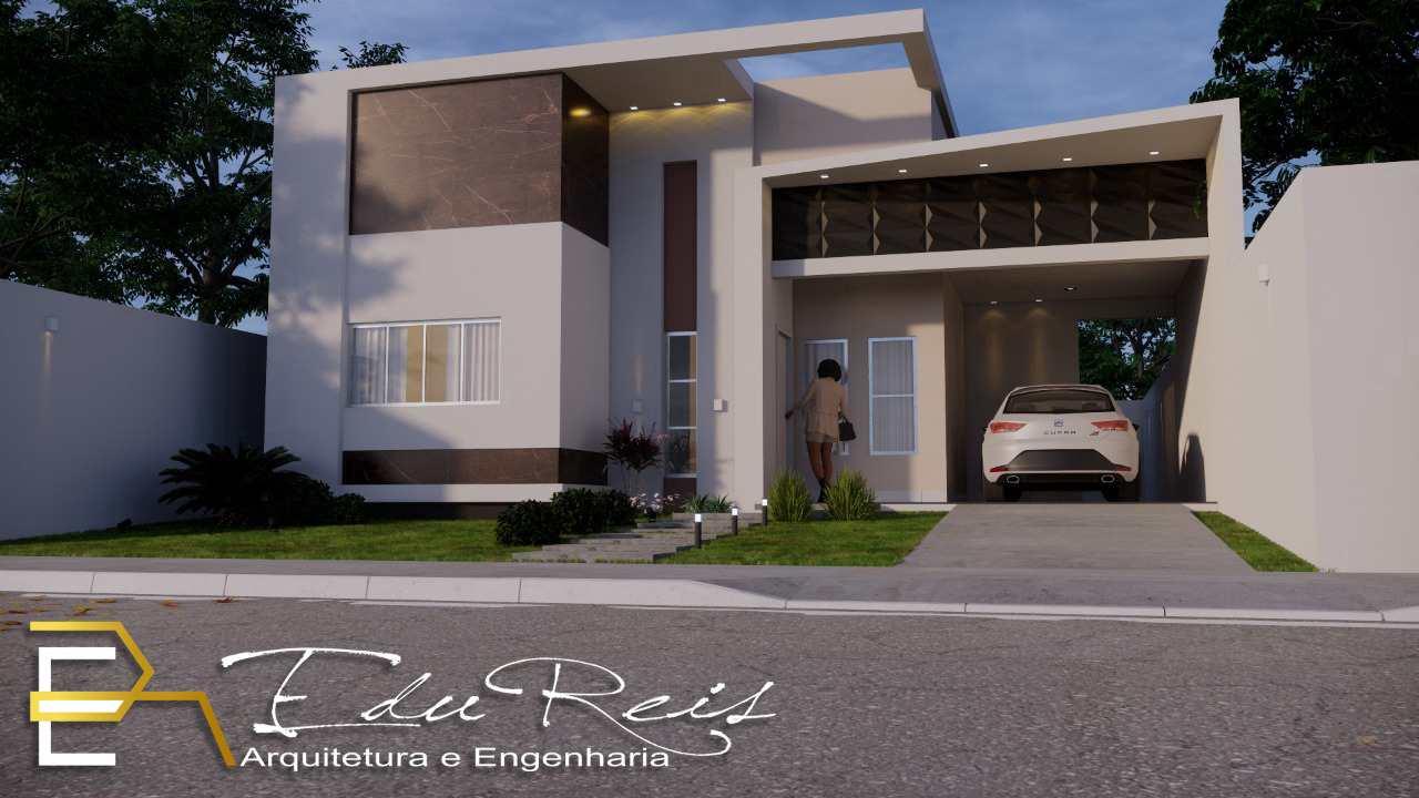 Casa com 2 dorms, Vertentes das Águas, Primavera do Leste - R$ 380 mil, Cod: 224