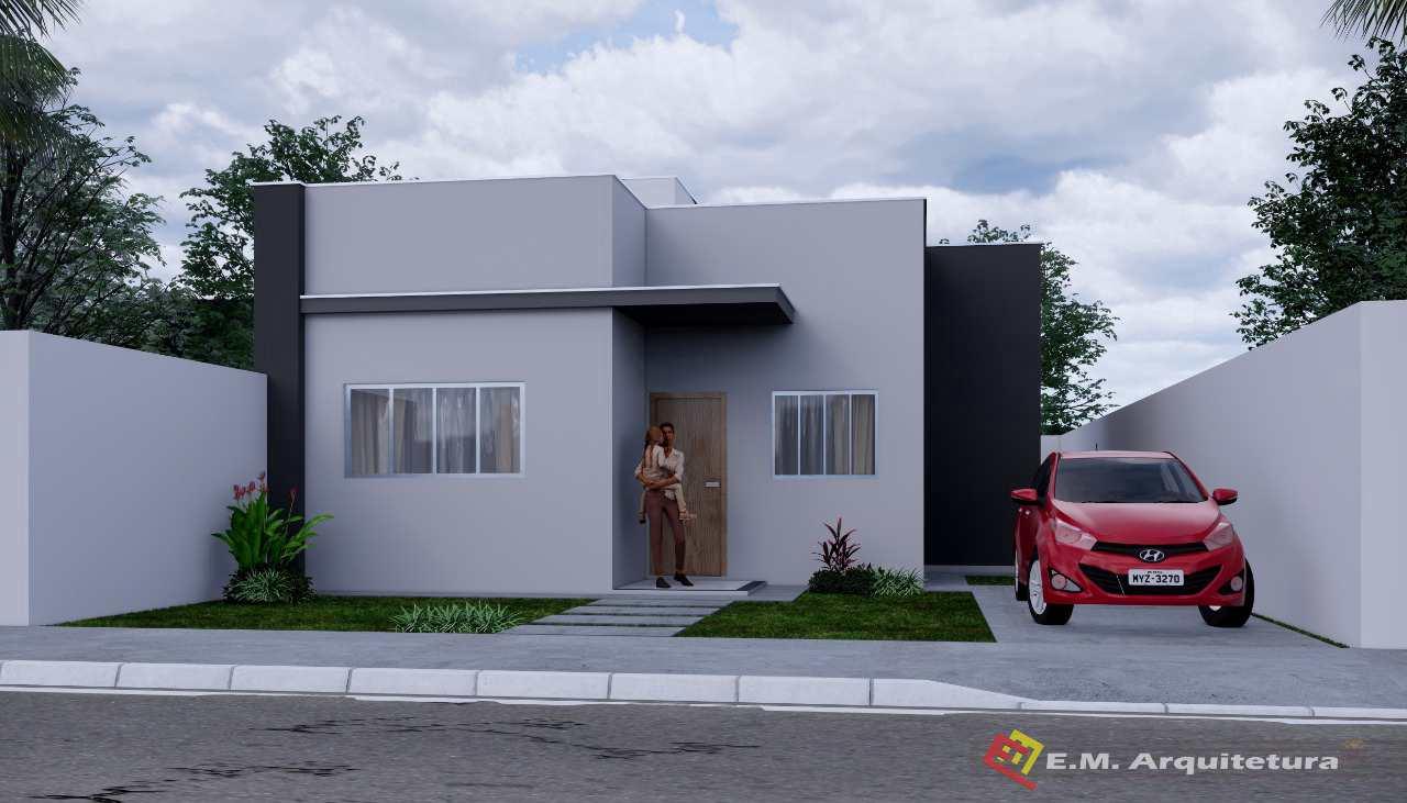Casa com 2 dorms, Buritis I, Primavera do Leste - R$ 160 mil, Cod: 235