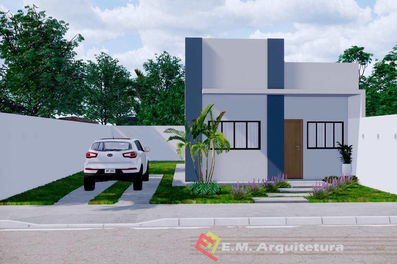 Casa com 2 dorms, Vertentes das Águas, Primavera do Leste - R$ 175 mil, Cod: 244