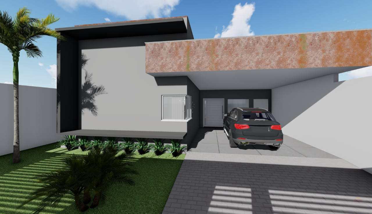 Casa com 2 dorms, Vertentes das Águas, Primavera do Leste - R$ 310 mil, Cod: 260
