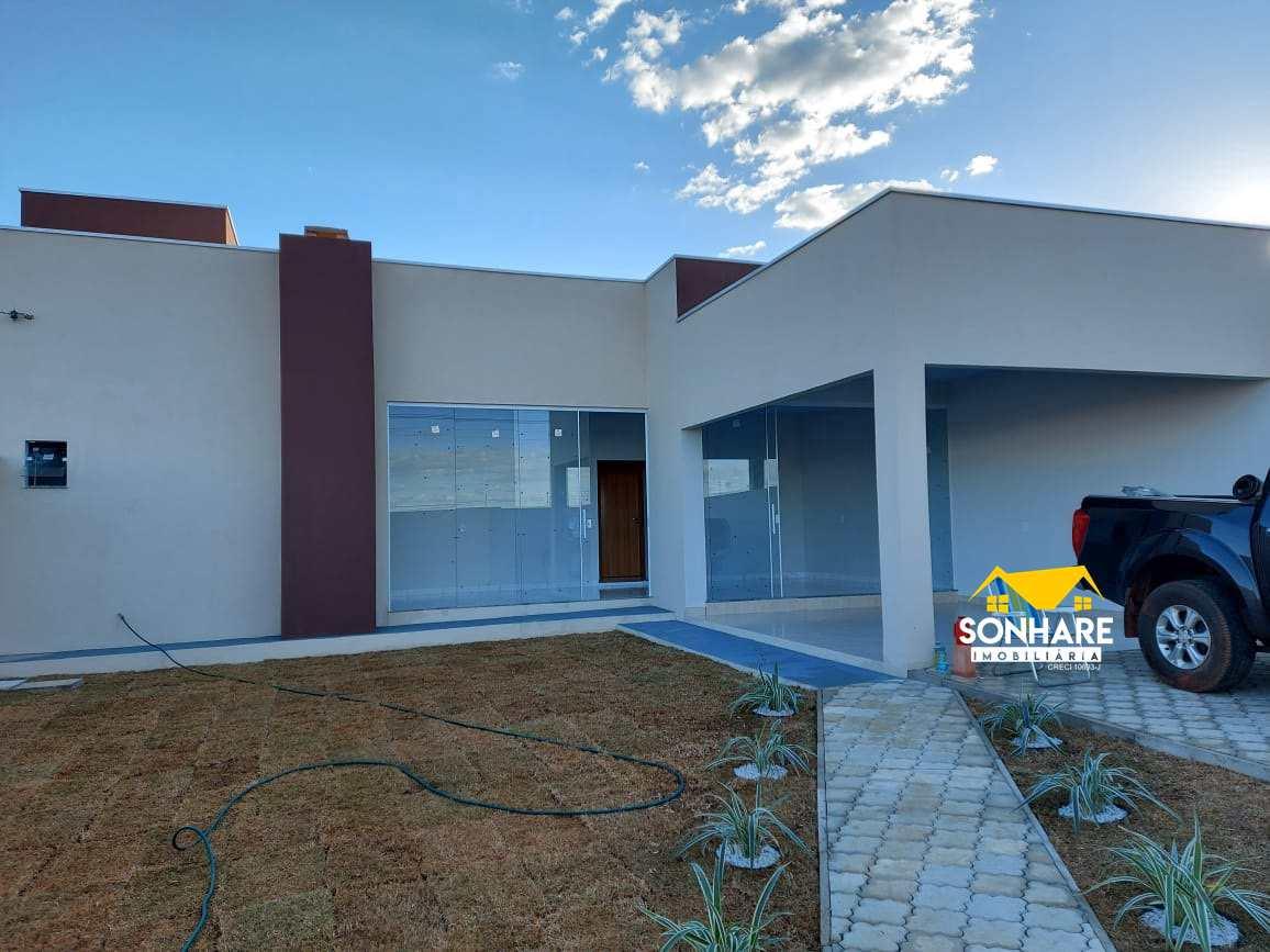 Casa com 2 dorms, Vertentes das Águas, Primavera do Leste - R$ 300 mil, Cod: 273