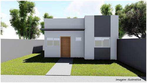 Casa com 2 dorms, JARDIM EUROPA, Primavera do Leste - R$ 172 mil, Cod: 278