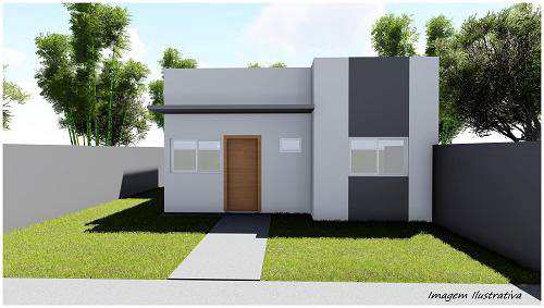 Casa com 2 dorms, JARDIM EUROPA, Primavera do Leste - R$ 180 mil, Cod: 279