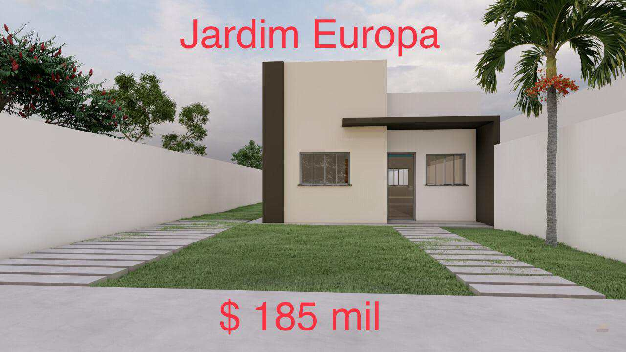 Casa com 2 dorms, JARDIM EUROPA, Primavera do Leste - R$ 185 mil, Cod: 334