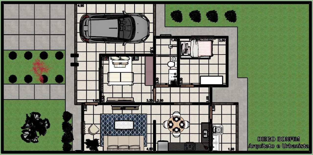 Casa com 2 dorms, BURITIS V, Primavera do Leste - R$ 185 mil, Cod: 370