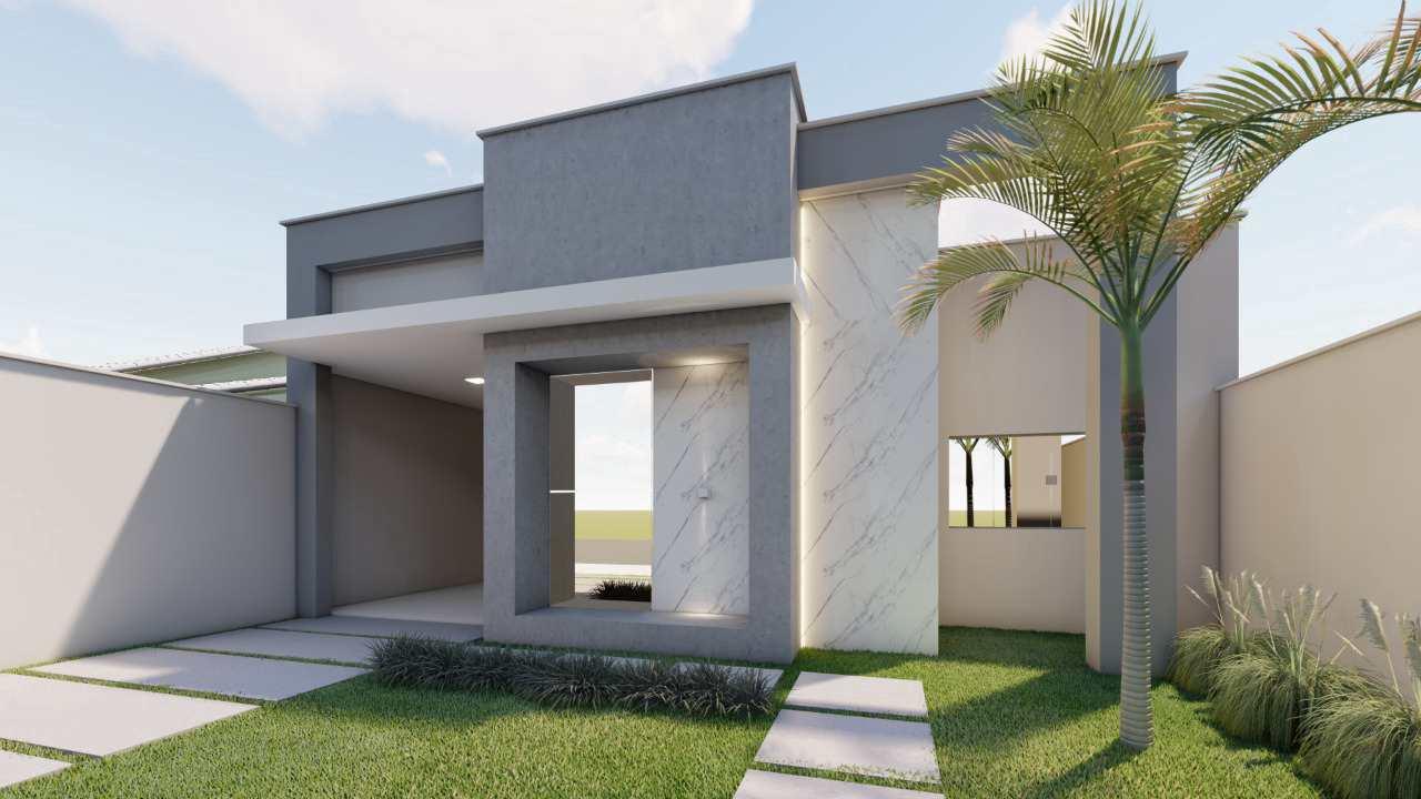Casa com 2 dorms, JARDIM EUROPA, Primavera do Leste - R$ 320 mil, Cod: 386