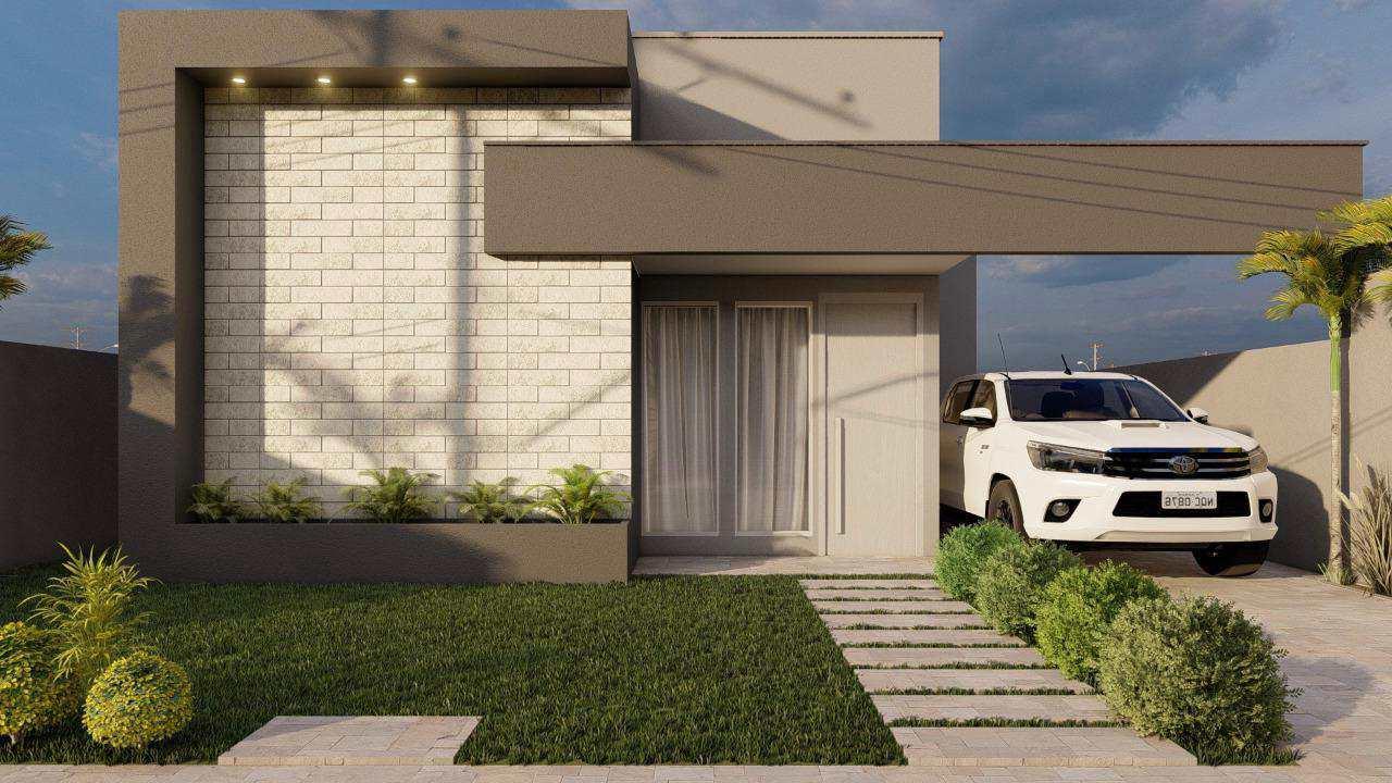 Casa com 2 dorms, BURITIS V, Primavera do Leste - R$ 320 mil, Cod: 399