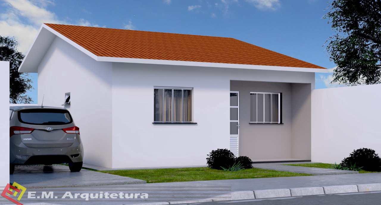 Casa com 2 dorms, Poncho Verde III - 4ª Ampliação, Primavera do Leste - R$ 160 mil, Cod: 401