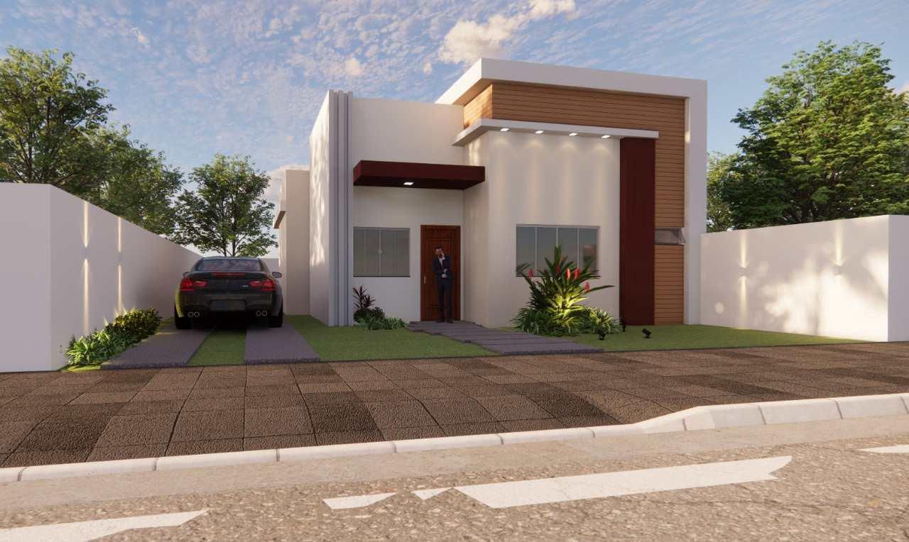 Casa com 2 dorms, Poncho Verde III - 4ª Ampliação, Primavera do Leste - R$ 280 mil, Cod: 402