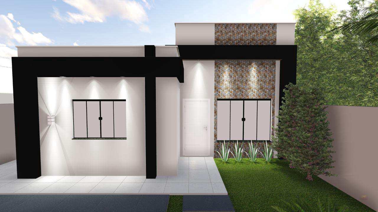 Casa com 2 dorms, BURITIS V, Primavera do Leste - R$ 230 mil, Cod: 413