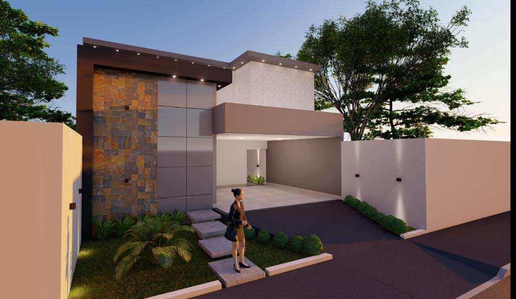 Casa com 2 dorms, Buritis II, Primavera do Leste - R$ 470 mil, Cod: 463
