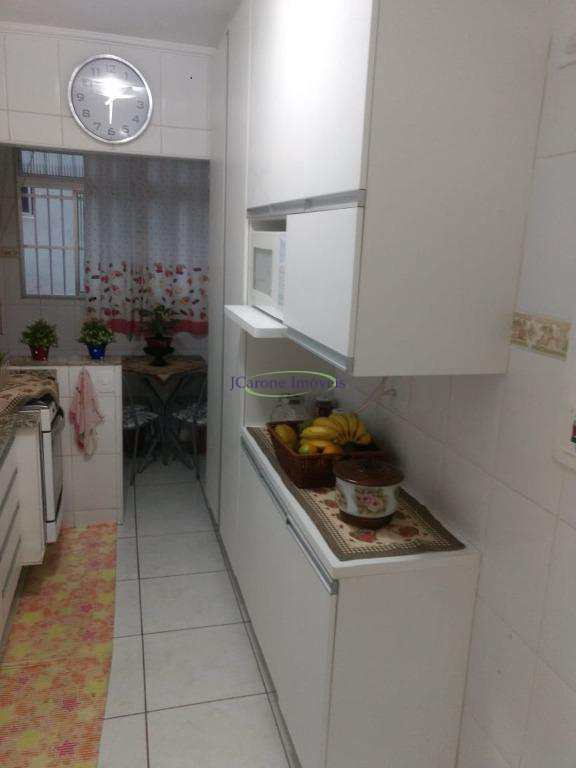 Apartamento com 2 dormitórios à venda, 80 m² por R$ 399.000 - José Menino - Santos/SP