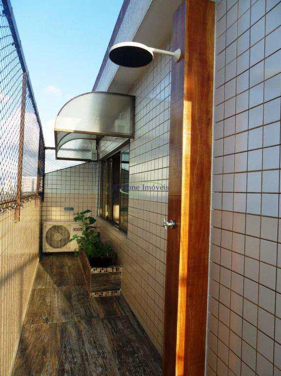 Cobertura com 2 dormitórios à venda, 216 m² por R$ 845.000 - Vila Belmiro - Santos/SP