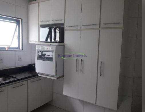 Apartamento com 3 dormitórios à venda, 100 m² por R$ 530.000 - Gonzaga - Santos/SP