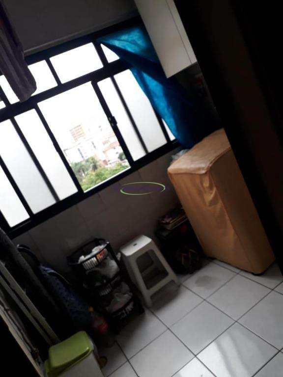 Apartamento com 2 dormitórios à venda, 80 m² por R$ 375.000 - Vila Mathias - Santos/SP