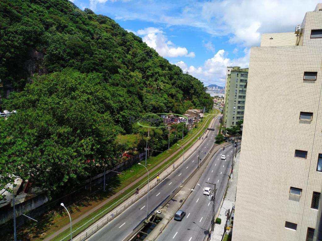 Apartamento com 1 dormitório à venda, 52 m² por R$ 214.000 - Itararé - São Vicente/SP