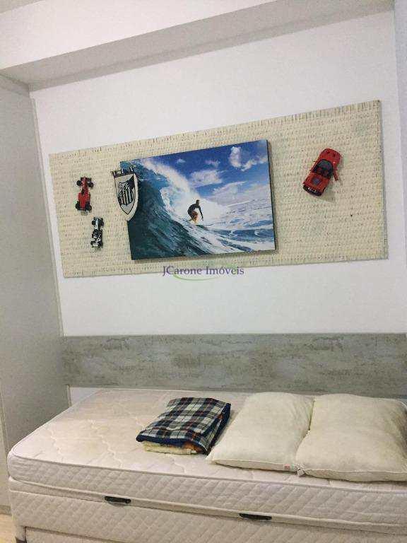 Apartamento com 2 dormitórios à venda, 101 m² por R$ 860.000 - José Menino - Santos/SP
