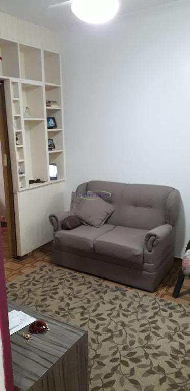 Apartamento com 1 dormitório à venda, 50 m² por R$ 265.000,00 - José Menino - Santos/SP