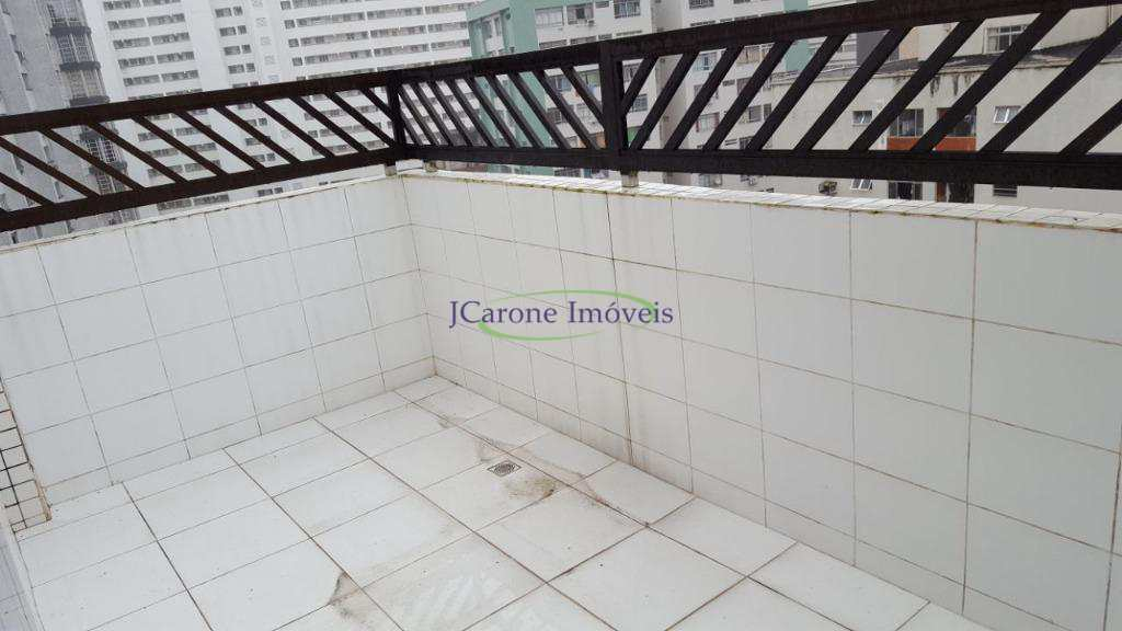 Cobertura com 2 dorms, José Menino, Santos - R$ 300 mil, Cod: 62701994