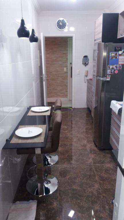 Apartamento com 2 dorms, Ponta da Praia, Santos - R$ 535 mil, Cod: 62696999