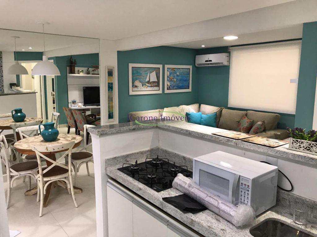 Apartamento com 1 dormitório à venda, 40 m² por R$ 318.000 - Embaré - Santos/SP