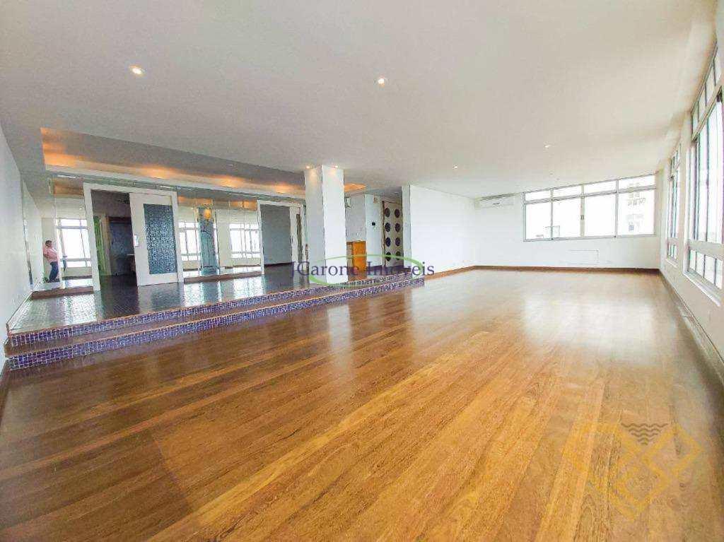 Apartamento com 4 dormitórios à venda, 400 m² por R$ 3.300.000,00 - Boqueirão - Santos/SP