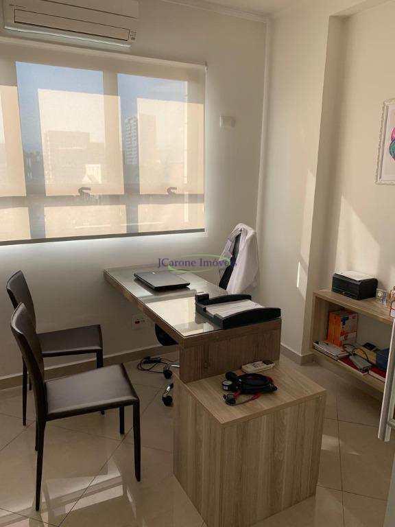 Sala à venda, 80 m² por R$ 560.000 - Gonzaga - Santos/SP