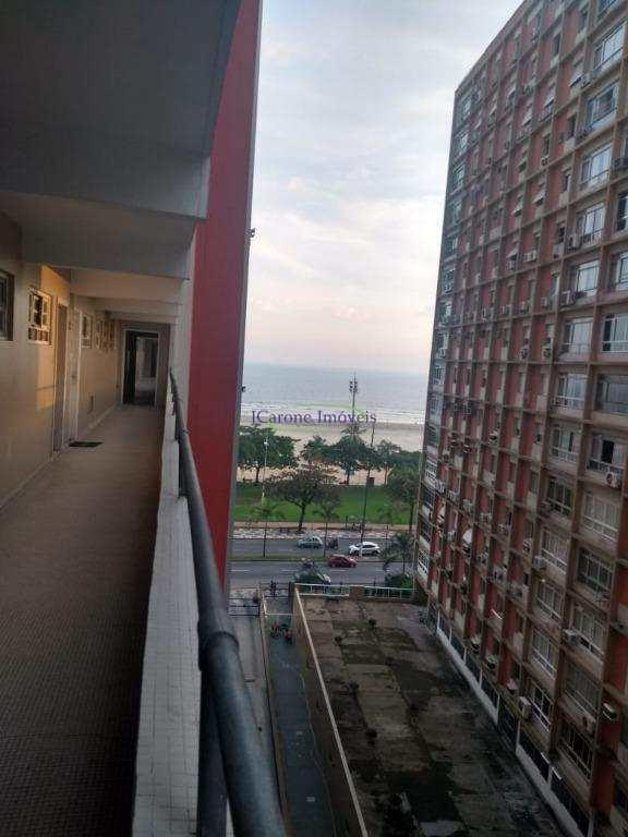 Apartamento com 1 dormitório à venda, 58 m² por R$ 285.000 - Boqueirão - Santos/SP