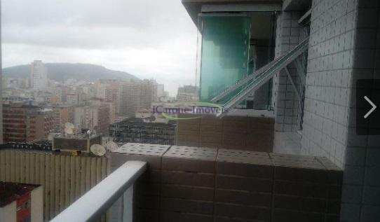 Apartamento com 2 dorms, Gonzaga, Santos - R$ 780 mil, Cod: 61015589