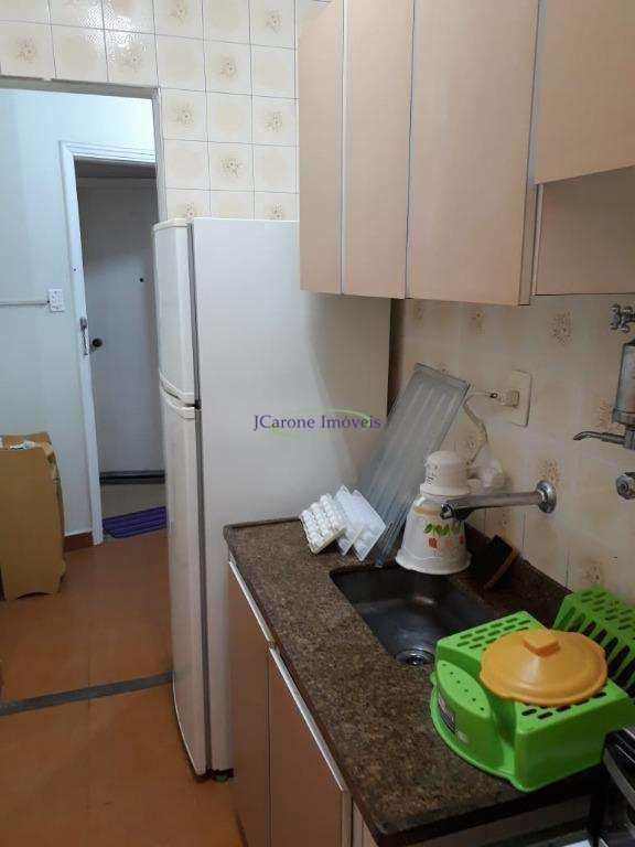 Apartamento com 1 dormitório à venda, 50 m² por R$ 210.000,00 - José Menino - Santos/SP