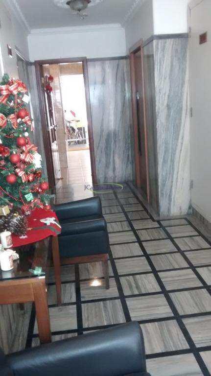 Apartamento com 1 dormitório à venda, 56 m² por R$ 295.000,00 - Boqueirão - Santos/SP