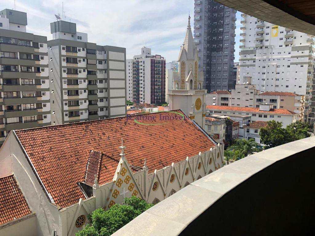 Apartamento com 3 dorms, Pompéia, Santos - R$ 790 mil, Cod: 60028349