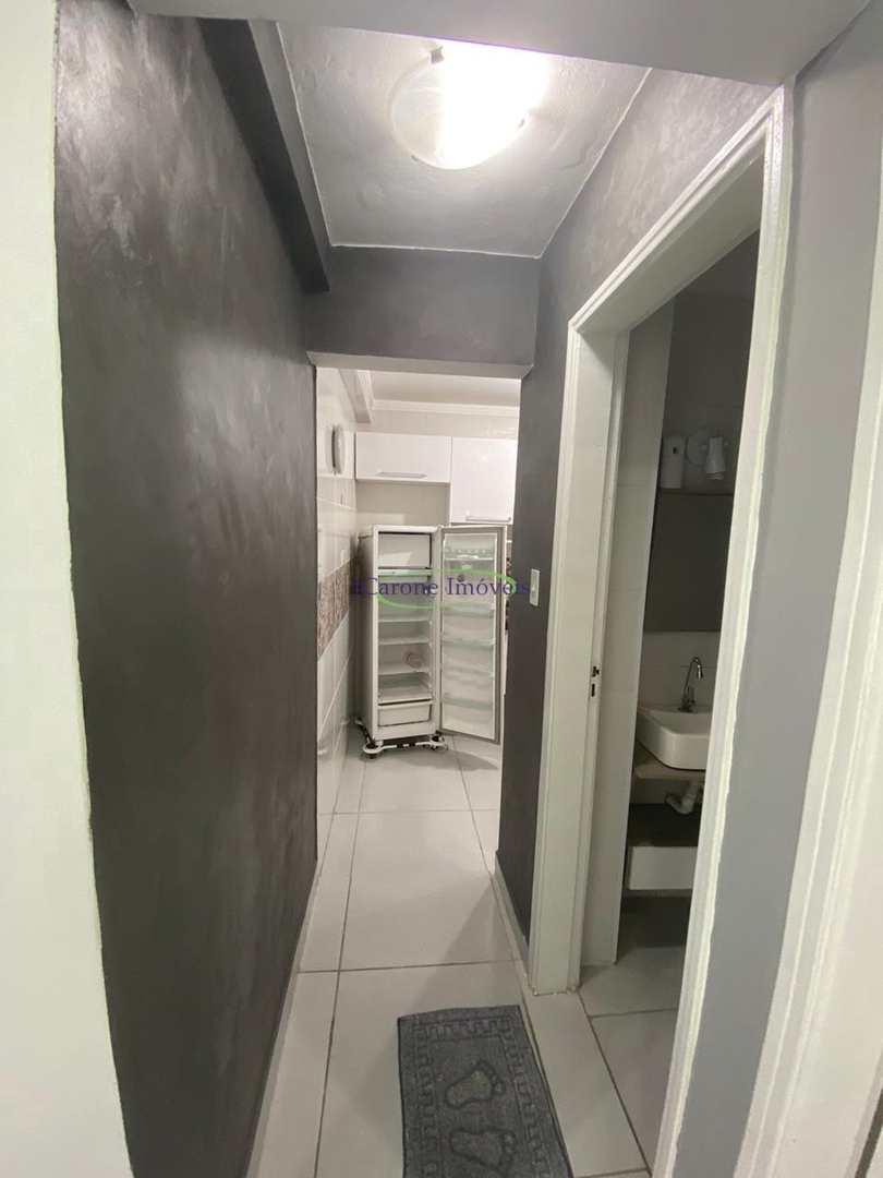 Apartamento com 1 dorm, Gonzaga, Santos - R$ 255 mil, Cod: 64152205