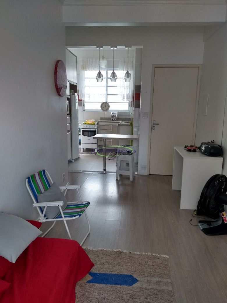 Apartamento com 1 dorm, Ponta da Praia, Santos - R$ 298 mil, Cod: 64152214
