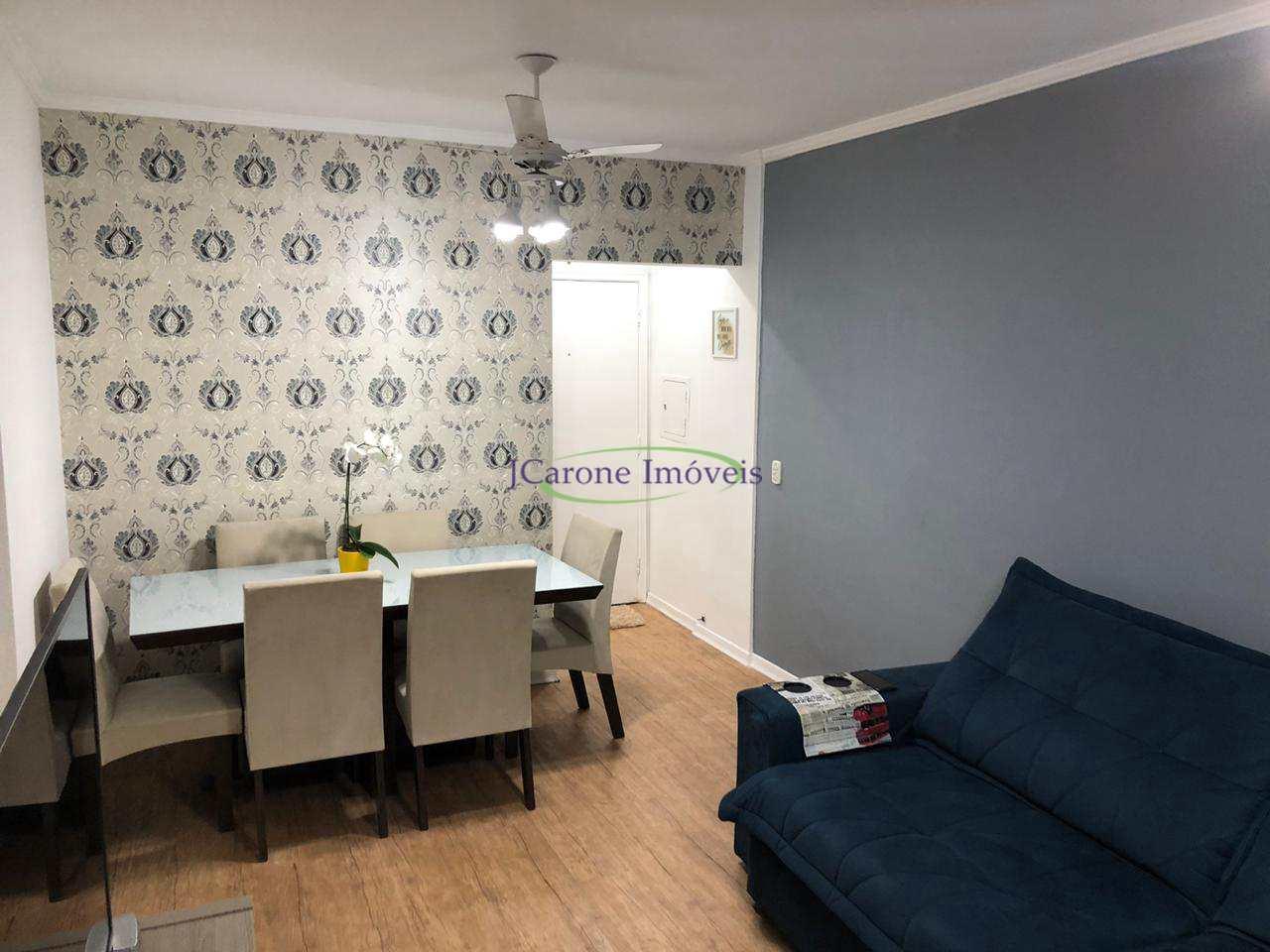 Apartamento com 1 dorm, Vila Mathias, Santos - R$ 270 mil, Cod: 64152223