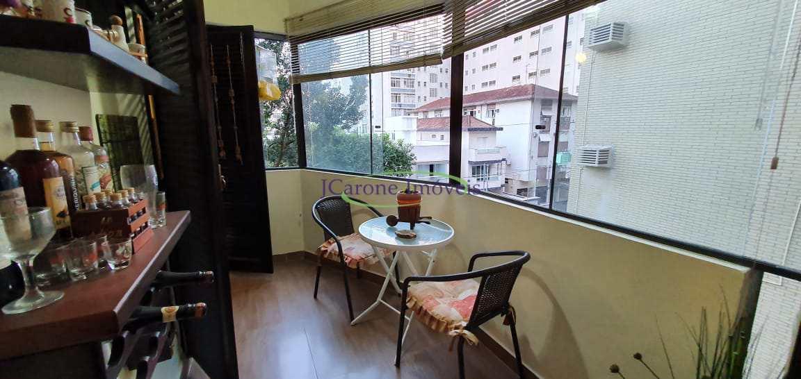 Apartamento com 1 dorm, Aparecida, Santos - R$ 380 mil, Cod: 64152374