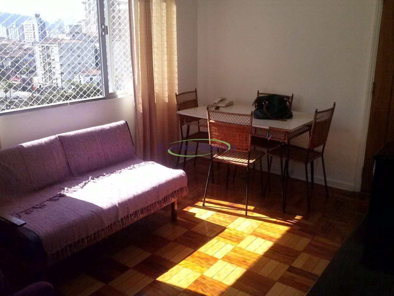 Apartamento com 1 dorm, José Menino, Santos, Cod: 64152405