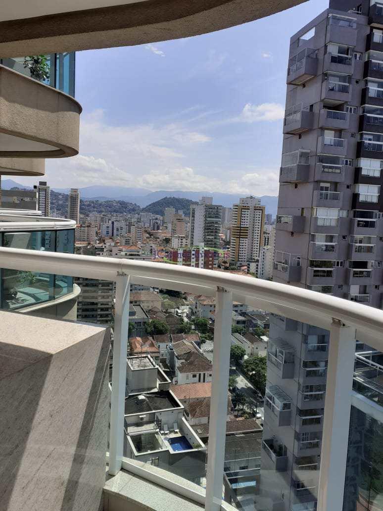 Apartamento com 1 dorm, Gonzaga, Santos - R$ 490 mil, Cod: 64152660