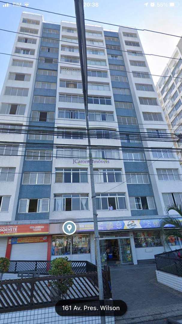 Apartamento com 1 dorm, José Menino, Santos - R$ 225 mil, Cod: 64152679