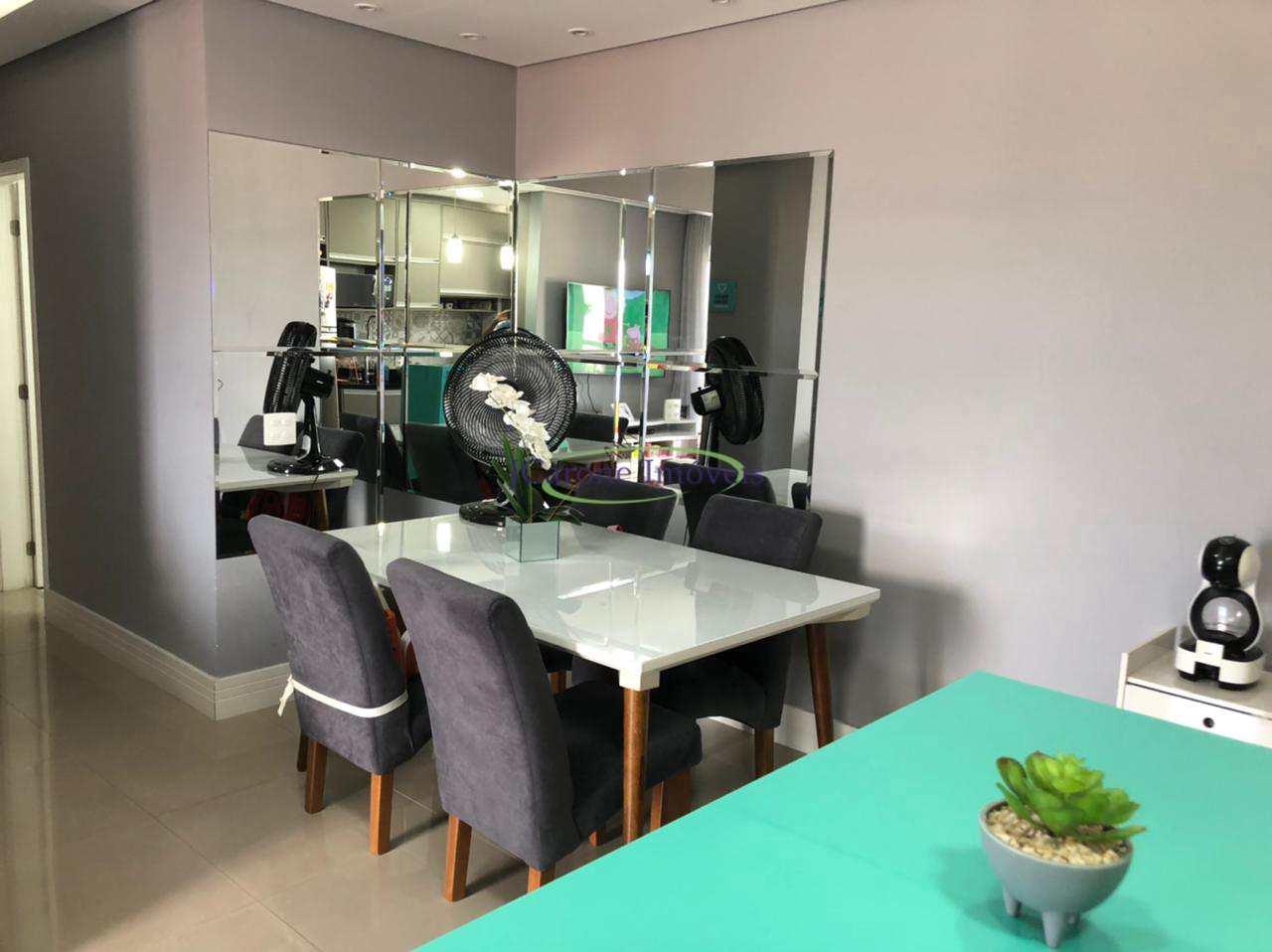 Apartamento com 2 dorms, Vila Mathias, Santos - R$ 425 mil, Cod: 64152784