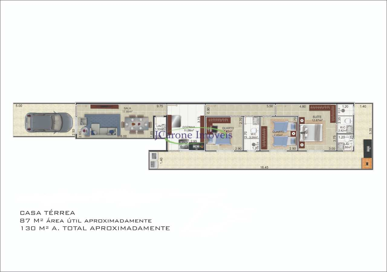 Casa com 3 dorms, Boqueirão, Santos - R$ 700 mil, Cod: 64152896