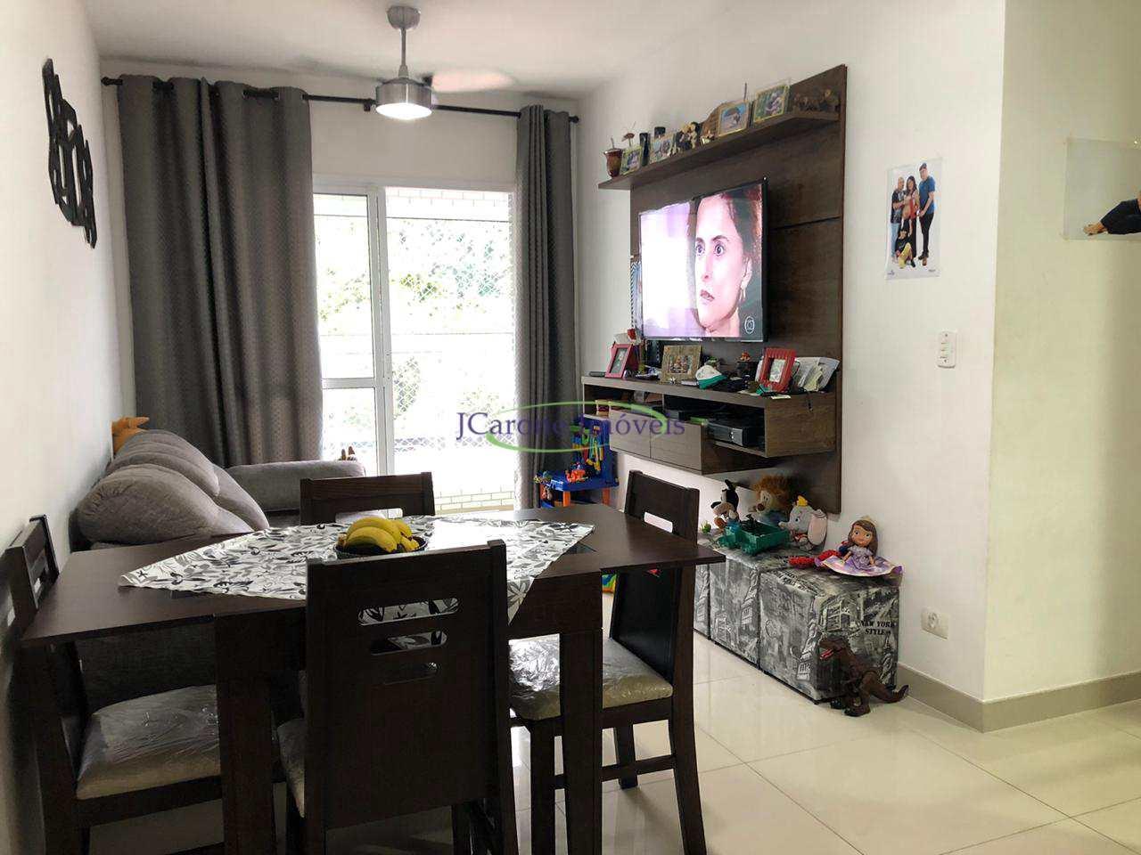 Apartamento com 2 dorms, Vila Mathias, Santos - R$ 355 mil, Cod: 64152912