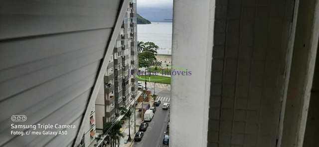 Apartamento com 2 dorms, Ponta da Praia, Santos - R$ 380 mil, Cod: 64152952