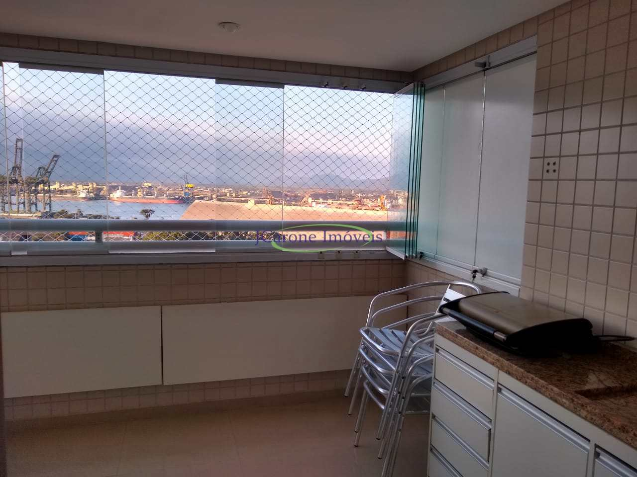 Apartamento com 2 dorms, Ponta da Praia, Santos - R$ 660 mil, Cod: 64153058