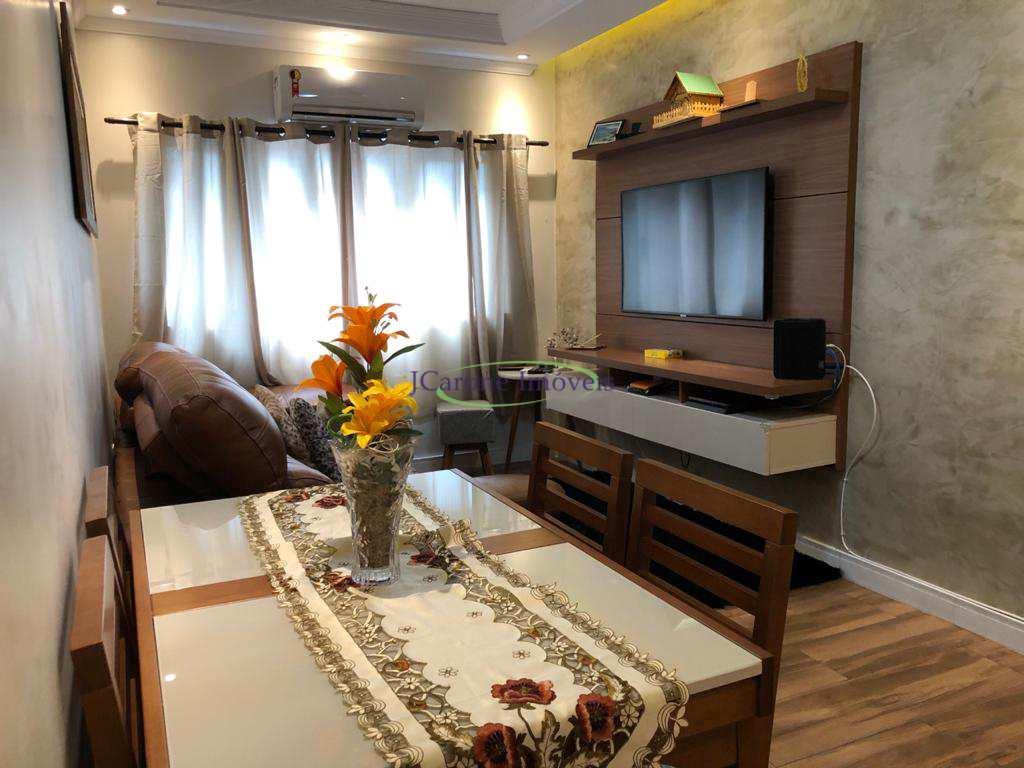 Apartamento com 2 dorms, Vila Mathias, Santos - R$ 260 mil, Cod: 64153101