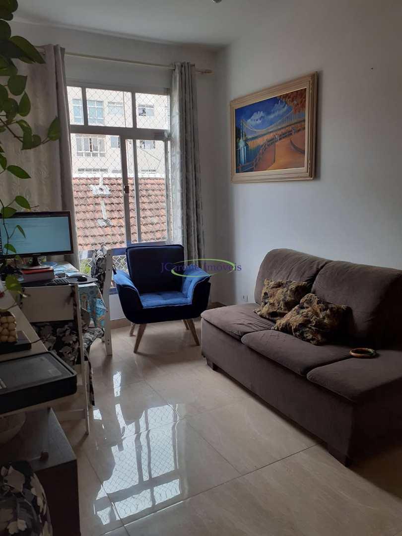 Apartamento com 1 dorm, Itararé, São Vicente - R$ 200 mil, Cod: 64153140