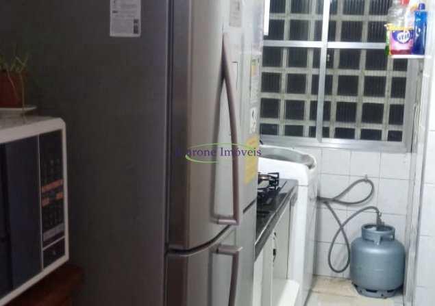 Apartamento com 1 dorm, Itararé, São Vicente - R$ 200 mil, Cod: 64153183